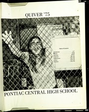 Page 5, 1975 Edition, Pontiac Senior High School - Quiver Yearbook (Pontiac, MI) online yearbook collection