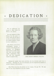 Page 13, 1937 Edition, Bridgeton High School - Baconian Yearbook (Bridgeton, NJ) online yearbook collection