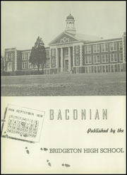 Page 6, 1943 Edition, Bridgeton High School - Baconian Yearbook (Bridgeton, NJ) online yearbook collection