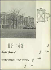 Page 7, 1943 Edition, Bridgeton High School - Baconian Yearbook (Bridgeton, NJ) online yearbook collection