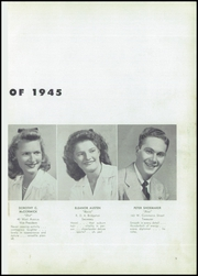 Page 13, 1945 Edition, Bridgeton High School - Baconian Yearbook (Bridgeton, NJ) online yearbook collection