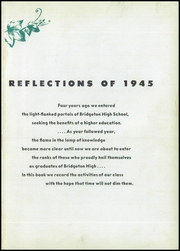 Page 7, 1945 Edition, Bridgeton High School - Baconian Yearbook (Bridgeton, NJ) online yearbook collection