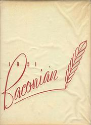 1951 Edition, Bridgeton High School - Baconian Yearbook (Bridgeton, NJ)