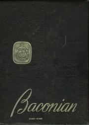 1952 Edition, Bridgeton High School - Baconian Yearbook (Bridgeton, NJ)