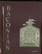 1956 Edition, Bridgeton High School - Baconian Yearbook (Bridgeton, NJ)