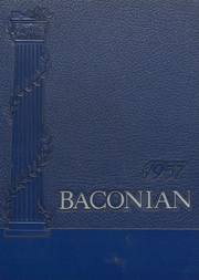 1957 Edition, Bridgeton High School - Baconian Yearbook (Bridgeton, NJ)