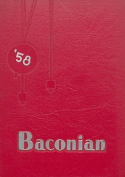 1958 Edition, Bridgeton High School - Baconian Yearbook (Bridgeton, NJ)