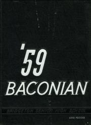 1959 Edition, Bridgeton High School - Baconian Yearbook (Bridgeton, NJ)