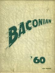 1960 Edition, Bridgeton High School - Baconian Yearbook (Bridgeton, NJ)