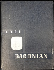 1961 Edition, Bridgeton High School - Baconian Yearbook (Bridgeton, NJ)
