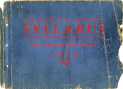 Page 1, 1934 Edition, East Orange High School - Syllabus Yearbook (East Orange, NJ) online yearbook collection