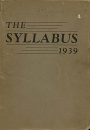 Page 1, 1939 Edition, East Orange High School - Syllabus Yearbook (East Orange, NJ) online yearbook collection