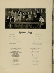Page 12, 1943 Edition, East Orange High School - Syllabus Yearbook (East Orange, NJ) online yearbook collection