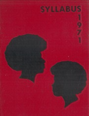 1971 Edition, East Orange High School - Syllabus Yearbook (East Orange, NJ)