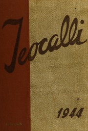 Mark Keppel High School - Teocalli Yearbook (Alhambra, CA) online yearbook collection, 1944 Edition, Page 1