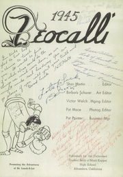 Page 5, 1945 Edition, Mark Keppel High School - Teocalli Yearbook (Alhambra, CA) online yearbook collection
