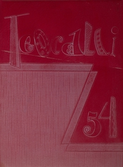 1954 Edition, Mark Keppel High School - Teocalli Yearbook (Alhambra, CA)