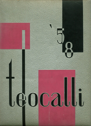 1958 Edition, Mark Keppel High School - Teocalli Yearbook (Alhambra, CA)
