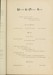 Page 117, 1898 Edition, University of Texas Austin - Cactus Yearbook (Austin, TX) online yearbook collection