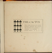Page 15, 1899 Edition, University of Texas Austin - Cactus Yearbook (Austin, TX) online yearbook collection