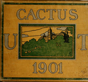 1901 Edition, University of Texas Austin - Cactus Yearbook (Austin, TX)