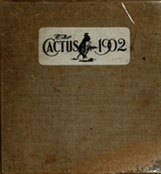 Page 1, 1902 Edition, University of Texas Austin - Cactus Yearbook (Austin, TX) online yearbook collection