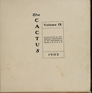 Page 5, 1902 Edition, University of Texas Austin - Cactus Yearbook (Austin, TX) online yearbook collection