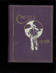 1905 Edition, University of Texas Austin - Cactus Yearbook (Austin, TX)