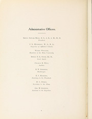 Page 14, 1909 Edition, University of Texas Austin - Cactus Yearbook (Austin, TX) online yearbook collection