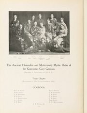 Page 188, 1909 Edition, University of Texas Austin - Cactus Yearbook (Austin, TX) online yearbook collection