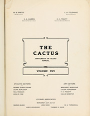 Page 7, 1909 Edition, University of Texas Austin - Cactus Yearbook (Austin, TX) online yearbook collection