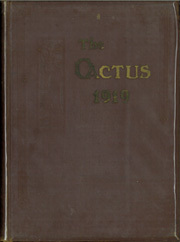 1919 Edition, University of Texas Austin - Cactus Yearbook (Austin, TX)