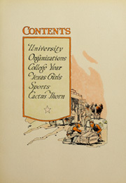 Page 13, 1920 Edition, University of Texas Austin - Cactus Yearbook (Austin, TX) online yearbook collection