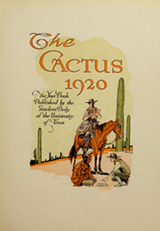 Page 7, 1920 Edition, University of Texas Austin - Cactus Yearbook (Austin, TX) online yearbook collection
