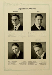 Page 40, 1921 Edition, University of Texas Austin - Cactus Yearbook (Austin, TX) online yearbook collection