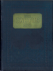 1922 Edition, University of Texas Austin - Cactus Yearbook (Austin, TX)
