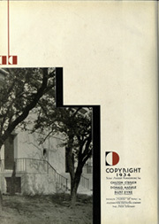 Page 6, 1934 Edition, University of Texas Austin - Cactus Yearbook (Austin, TX) online yearbook collection