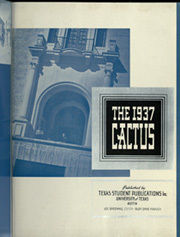 Page 7, 1937 Edition, University of Texas Austin - Cactus Yearbook (Austin, TX) online yearbook collection