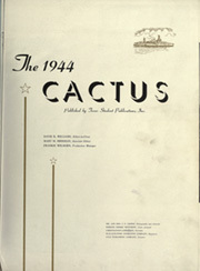 Page 5, 1944 Edition, University of Texas Austin - Cactus Yearbook (Austin, TX) online yearbook collection