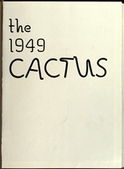 Page 5, 1949 Edition, University of Texas Austin - Cactus Yearbook (Austin, TX) online yearbook collection