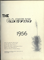 Page 7, 1956 Edition, University of Texas Austin - Cactus Yearbook (Austin, TX) online yearbook collection