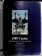 Page 5, 1987 Edition, University of Texas Austin - Cactus Yearbook (Austin, TX) online yearbook collection