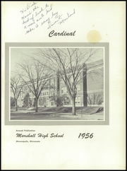 Page 5, 1956 Edition, Marshall High School - Cardinal Yearbook (Minneapolis, MN) online yearbook collection