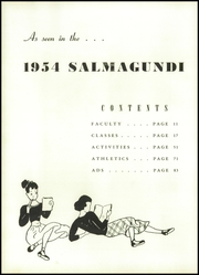 Page 12, 1954 Edition, Seminole High School - Salmagundi Yearbook (Sanford, FL) online yearbook collection