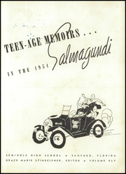 Page 5, 1954 Edition, Seminole High School - Salmagundi Yearbook (Sanford, FL) online yearbook collection