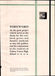 Page 11, 1931 Edition, Colton Union High School - Crimson and Gold Yearbook (Colton, CA) online yearbook collection