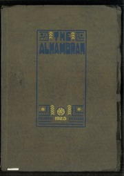 1923 Edition, Alhambra High School - Alhambran Yearbook (Alhambra, CA)