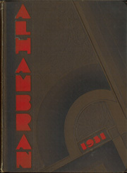 Page 1, 1931 Edition, Alhambra High School - Alhambran Yearbook (Alhambra, CA) online yearbook collection