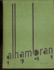 Alhambra High School - Alhambran Yearbook (Alhambra, CA) online yearbook collection, 1941 Edition, Page 1
