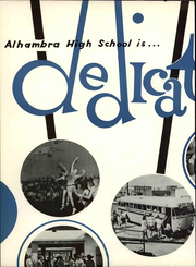 Page 10, 1961 Edition, Alhambra High School - Alhambran Yearbook (Alhambra, CA) online yearbook collection
